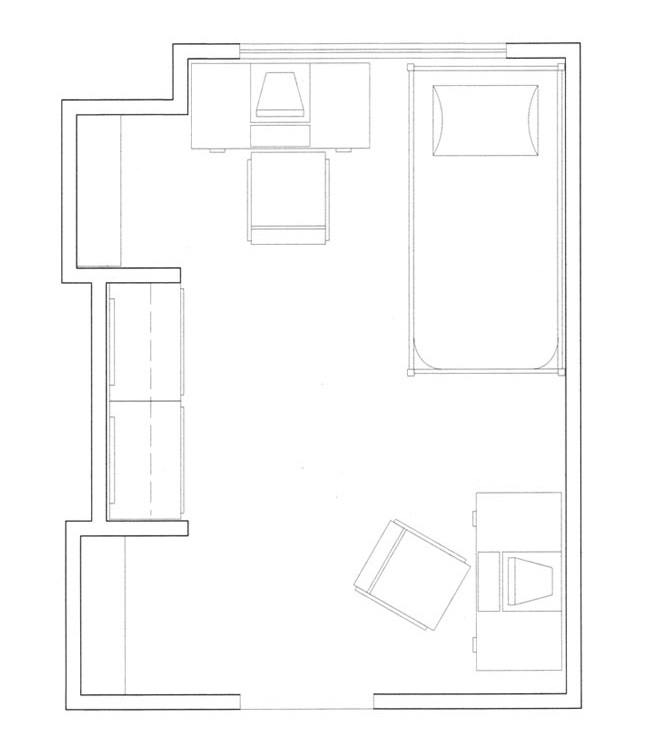 Johnson Hall Floorplan