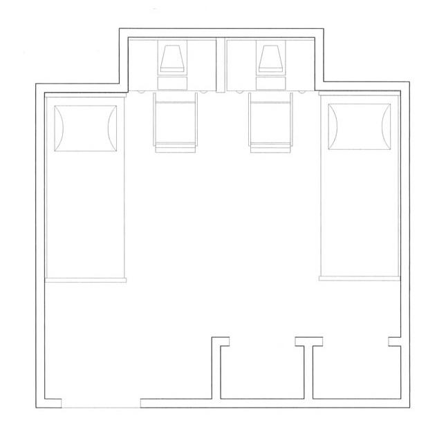 Kenyor Hall Floorplan