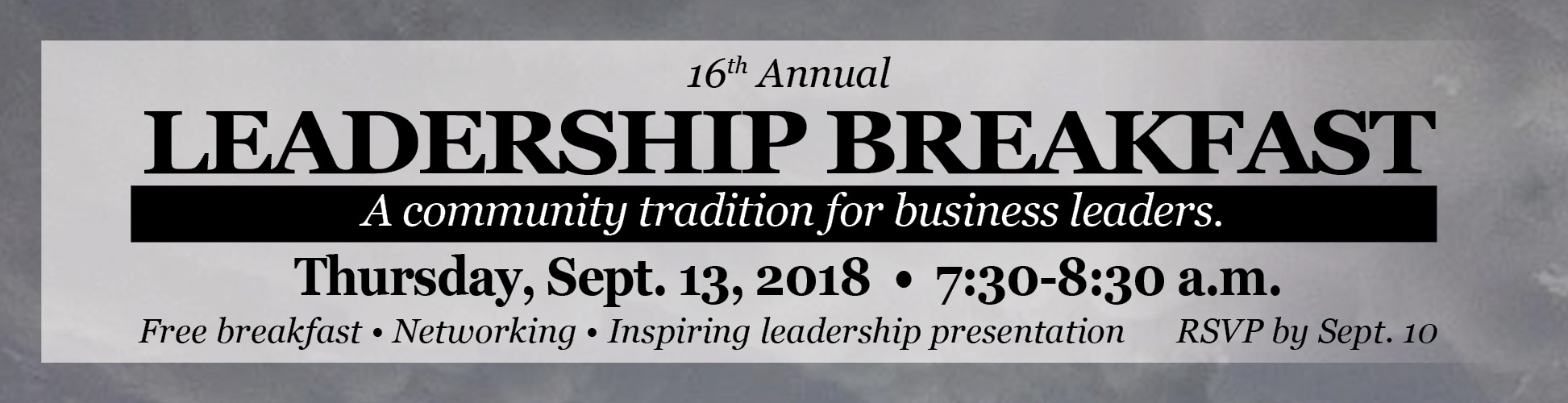 leadership breakfast 2018 small banner