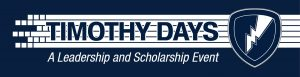 Timothy Days 2019 banner image