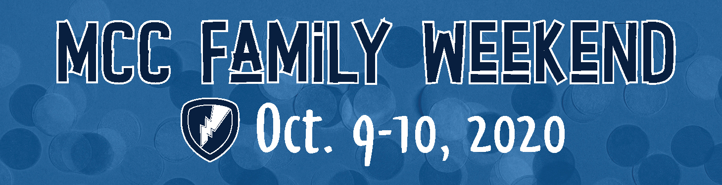 Family Weekend 2020 banner