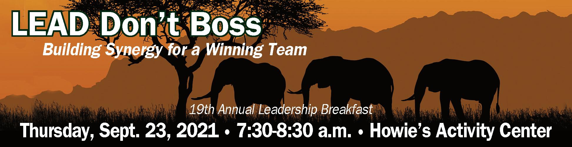 2021 leadership breakfast banner