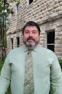 Caleb May - Director of Library Services