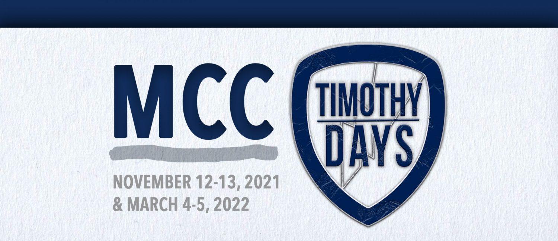 Timothy Days 2021 Web Banner image
